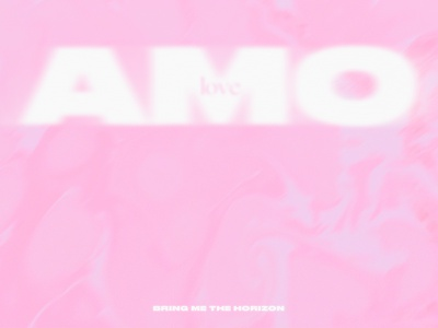 amo. texture art direction concept typography