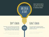An Idea A Day