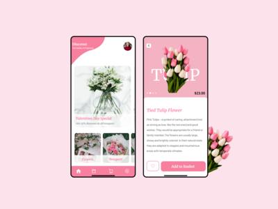 Flower App UI