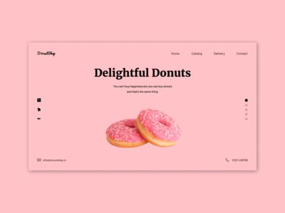 Donut | Landing Page UI