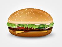 Burger Royal with Cheese