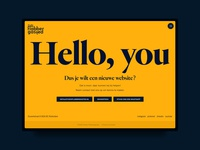 Hello, you - Contact page