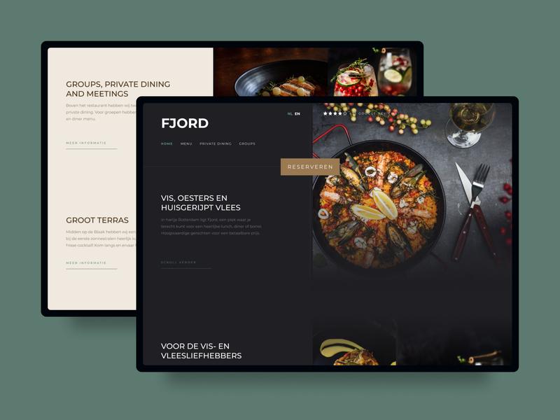 Luxury Restaurant Website