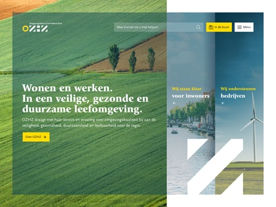 Concept homepage OZHZ