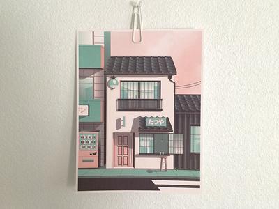 Tokyo Street Print