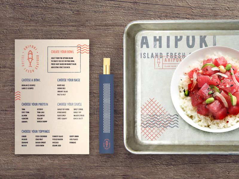 Ahi menu