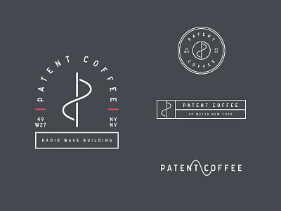 Patent Coffee Logos new york nyc inventor radio wave tesla food restaurant coffee current badge