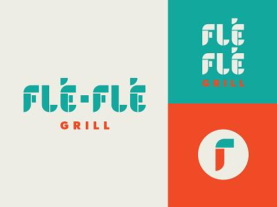 Lebanese Logo tile arches qsr food restaurant middle eastern pepper geometric lebanese