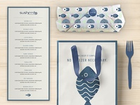 Sushiritto Branding Concept