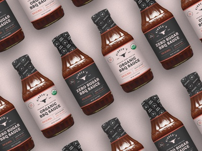 BBQ Packaging food branding food packaging design food and beverage bbq sauce bbq packaging bbq food packaging identity branding food