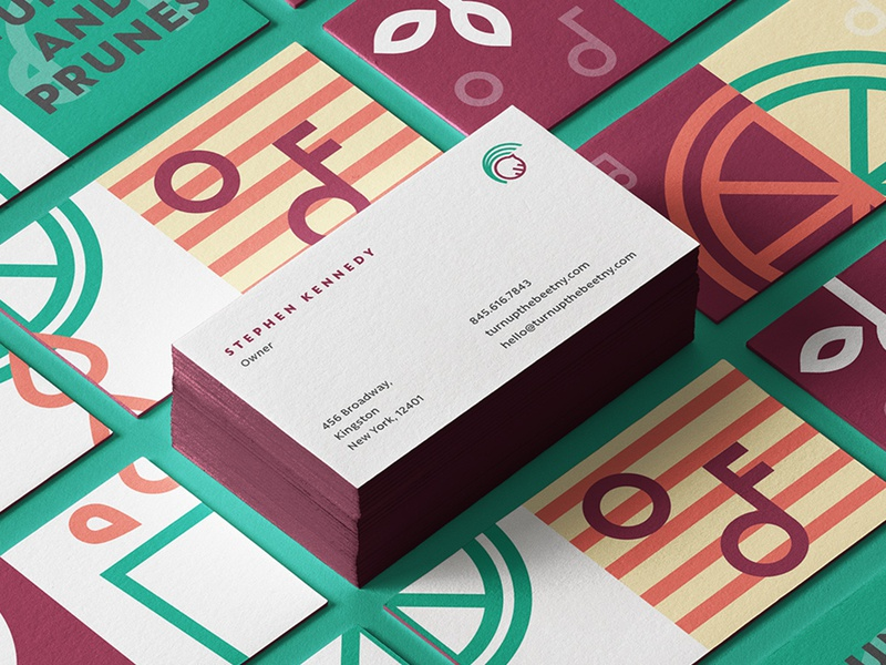 TUTB Business Cards juices smoothies new york juice food and beverage business cards identity illustration branding food restaurant