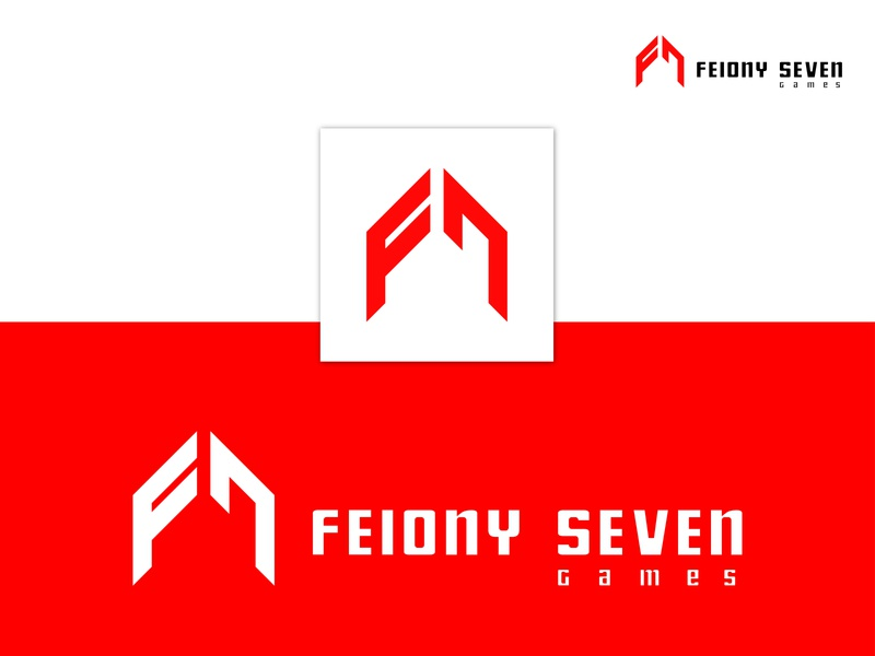 Felony Seven (F7) cool games abstract 7 logo f letter logo monogram minimal vector logotype logo design flat logodesign logo logo mark