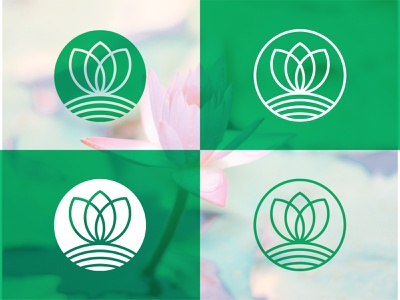 Lotus Flower Logo Exploration nature logo creative logo attractive logo simple logo clean beautiful restaurant logo lotus flower lotus logo brand identity abstract adobe illustrator logo design design branding logodesign minimal logo logo mark