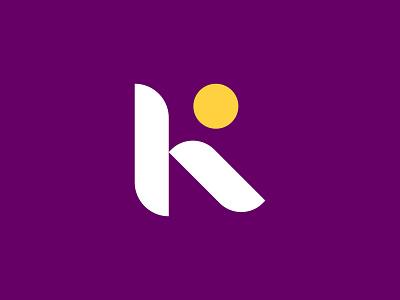 KR Lettermark monogram minimalist logo flat astrology kr logo lettemark design branding logodesign minimal logo logo mark