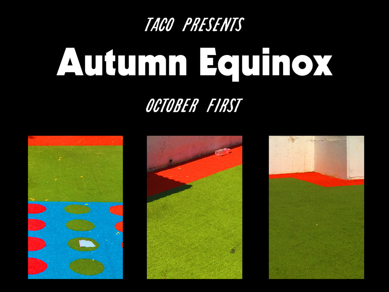 TACO - Autumn Equinox Poster poster