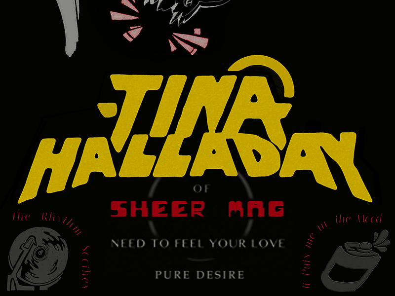 Tina Halladay Typography graphic design illustration type poster