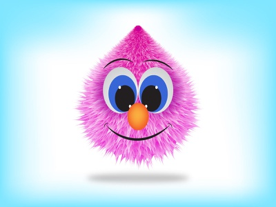 Cute Furrball Character design creativity character illustration vector digital art cartoon character illustration creative