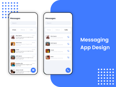 Messaging App UI Design