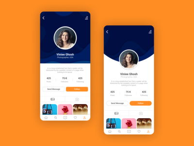UI Design - User Profile