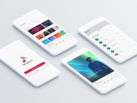 MUSICO - Music App UI Design
