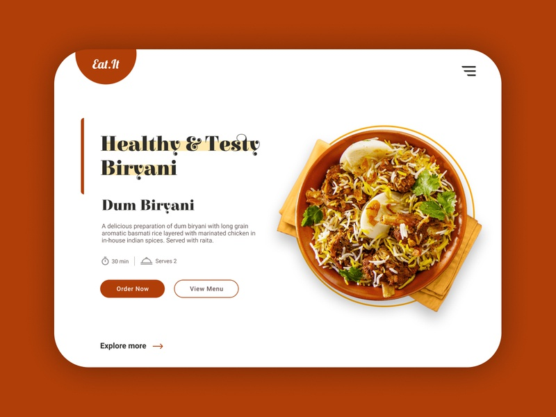 Recipe product branding web dailyui ux ui website design of the day figma clean design