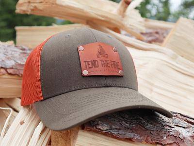 Tend the Fire Swag Hat non-profit ministry christian hat swag men badge logo logo branding design