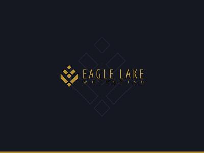 Eagle Lake Brand Identity montana whitefish real estate condominium condo eagle lake brand identity logo branding design
