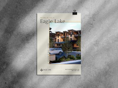 Eagle Lake Graphics montana whitefish condominium condo real estate eagle lake whitefish graphic design social media brand identity logo branding design