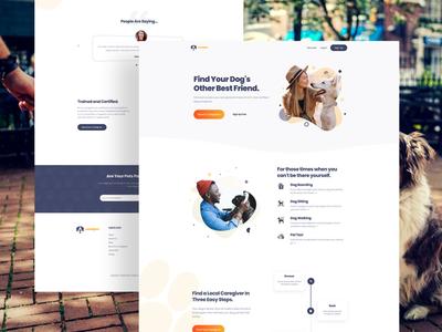 U&Pet Homepage Redesign