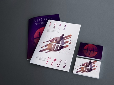 Brochure Less talk more tech