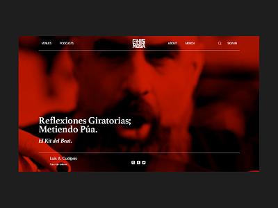Chismosa Brand Profile Page websites product branding digital branding brand design @design