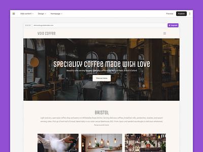 BaseKit Sitebuilder UI refresh web web-app ux bristol website minimal ui