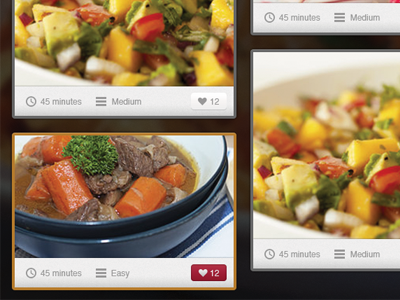 Recipe theme rusic recipe grid theme tutorial