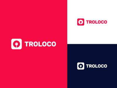 Troloco logo pin logo local troloco