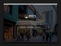 BRSTL holding page