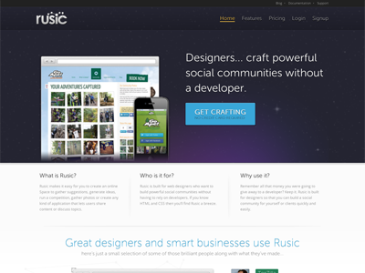 Rusic refresh rusic refresh space website