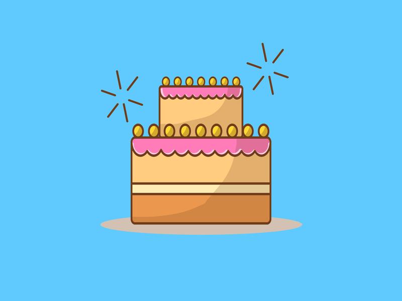 Coockie vector illustrator cake sweets cute sweet outline minimal coockie