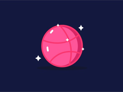 Hello Dribbble mbe style mbe space illustrator illustration dribbble dreams vector cute illustration cute