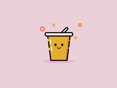 Cup cup illustration vector identity
