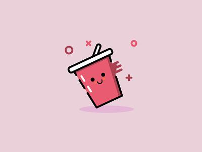 Cup v.2 illustrator vector identity brand illustration cup
