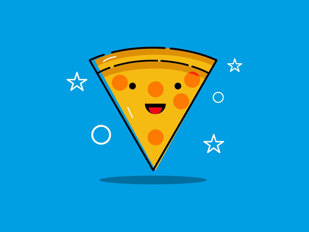 Pizza mbestyle mbe illustrator icon vectorillustrator vector pizza