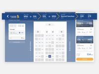 Singapore Airline Concept Design - Steps