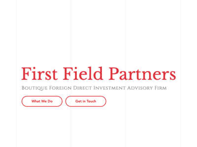 First Field Partners | SEO