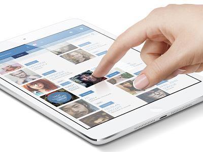Facebook Drop to Create Group facebook flat concept app ipad ui ux friends photo create