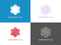 Apparatics final logo set