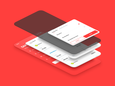 Smartway App Anatomy red mobile design mockup scroll icons ux ui flights corporate service business filter travel booking mobile app smartway