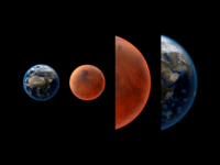 Planets for Solar System App astronomy cinema4d 3d space solar system moon earth planets