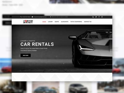 Miami Exotic Toys Website Design