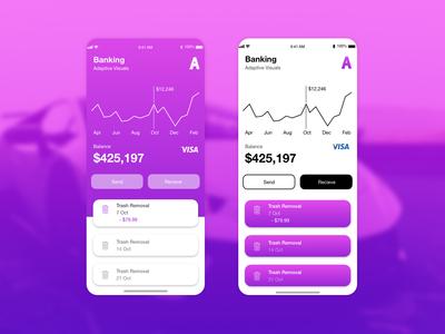 Mobile Banking App Mockup
