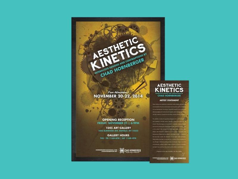 Aesthetic Kinetics Art Exhibition poster design graphic design exhibition print events event event branding brand identity brand poster environmental design experiential branding design logo illustration